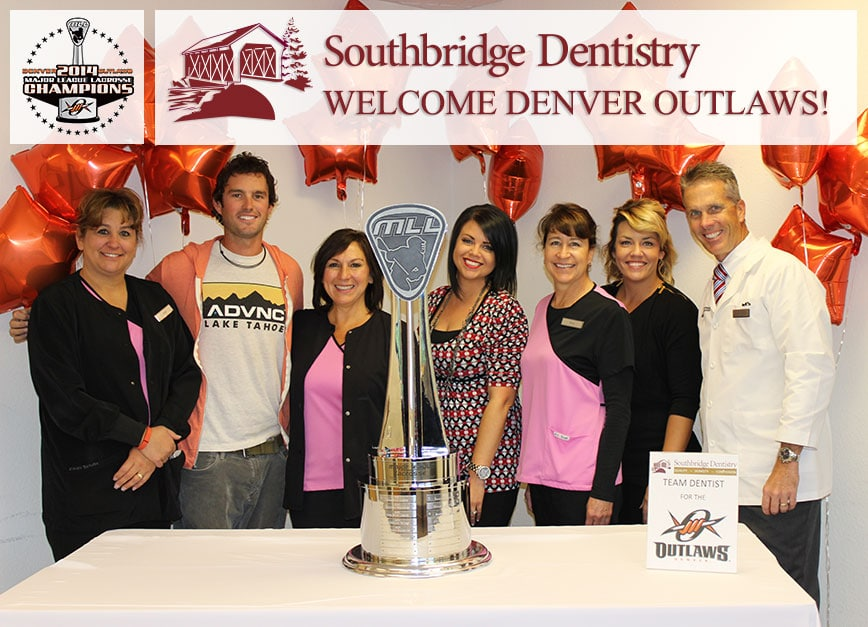 Denver Outlaws and Cherry Creek Family Dentistry